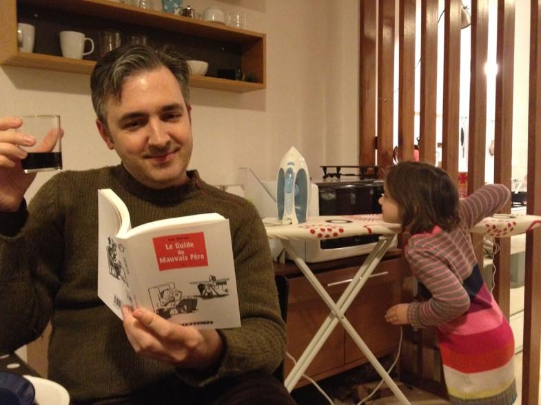 Matt Maden et sa fille